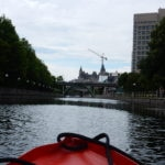 Approaching Ottawa on the Rideau Canal