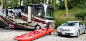 Our toys: ebikes, boat, car and RV