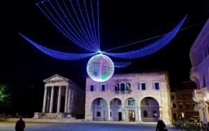Christmas in Pula, Croatia