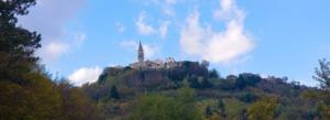 Hill top towns in Istria Croatia