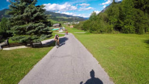 San Candido Italy bike route