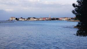 A short cycle from our campground to Poreč