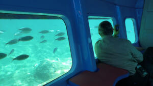 Ride in a semi-submersible from Krk
