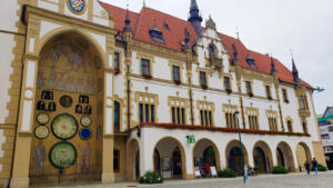 Olomouc Town Hall with Astronomical clock