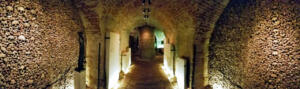 Brno CZ has the second-largest ossuary in Europe. 50,000 people buried here.