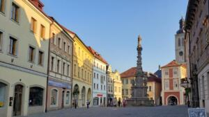 Main square in Kutná Hora