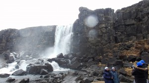 Iceland: Walk to Waterfall