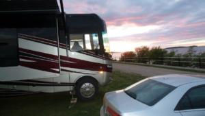 Slave-Lake-Alberta-campsite-on-Lessor-Slave-Lake-4