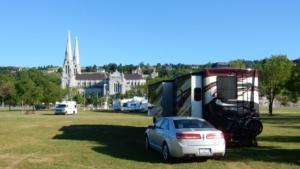 Camping at Ste Anne de Beaupre