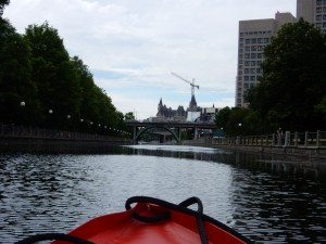 Ottawa from the Rideau Canal
