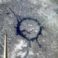 Eye of Quebec - from Space Station